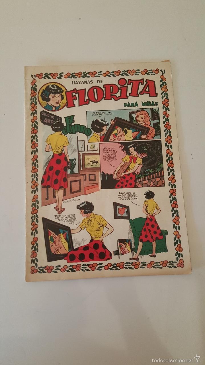 FLORITA HAZAÑAS - EL CUADRO - Nº 138 (Tebeos y Comics - Cliper - Florita)
