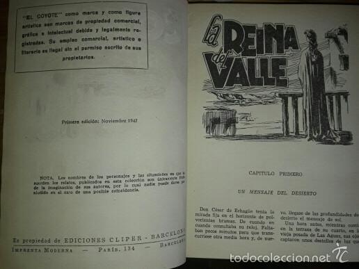 Tebeos: 24 tomos tebeo El Coyote 1947 - Foto 5 - 59352390
