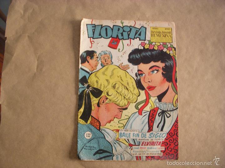 FLORITA Nº 427, EDITORIAL CLIPER (Tebeos y Comics - Cliper - Florita)