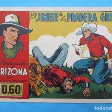 Tebeos: EL INTREPIDO ARIZONA ,NUMERO 3 ,EL JINETE DE LAS PRADERAS, CLIPER 1942 MUY BUENA CONSERVACION. Lote 61678024