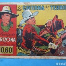Tebeos: EL INTREPIDO ARIZONA ,NUMERO 5 LA CAVERNA DEL TERROR , CLIPER 1942. Lote 61680724