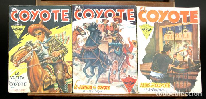 8072 - EL COYOTE. 126 EJEMPLARES(VER DESCRIPCIÓN). EDIC. CLIPER. AÑOS 40. (Tebeos y Comics - Cliper - El Coyote)