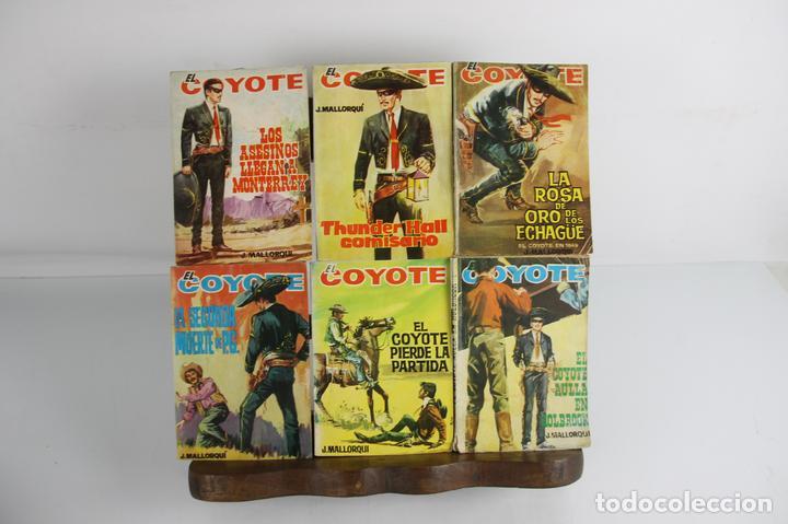 5062- EL COYOTE. J. MALLORQUI. EDIC. CID. COLECCION DE 47 NUMEROS. 1964. (Tebeos y Comics - Cliper - El Coyote)