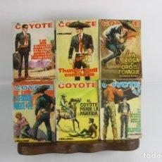 Tebeos: 5062- EL COYOTE. J. MALLORQUI. EDIC. CID. COLECCION DE 47 NUMEROS. 1964.. Lote 44624342