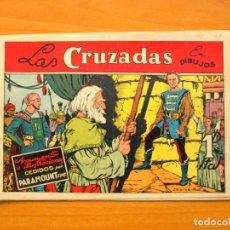 Tebeos: LAS CRUZADAS - PELÍCULAS FAMOSAS Nº 3 - EDICIONES CLIPER 1942. Lote 64471651
