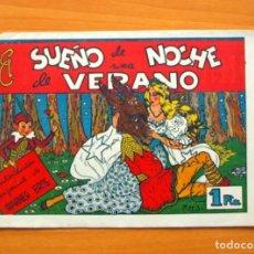 Tebeos: EL SUEÑO DE UNA NOCHE DE VERANO - PELÍCULAS FAMOSAS Nº 26 - EDICIONES CLIPER 1942. Lote 64471815