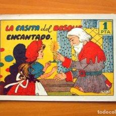 Tebeos: CUADERNOS SELECTOS CISNE, Nº 18 - LA CASITA DEL BOSQUE ENCANTADO - EDITORIAL CLIPER 1942. Lote 64473955