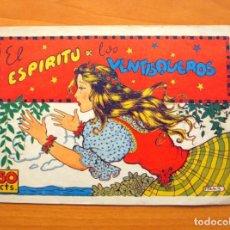 Tebeos: CUADERNOS SELECTOS CISNE, Nº 57 - EL ESPIRITU DE LOS VENTISQUEROS - EDITORIAL CLIPER 1942. Lote 64474883