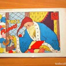 Tebeos: CUADERNOS SELECTOS CISNE, Nº 75 LAS TRES PLUMAS - EDITORIAL CLIPER 1942. Lote 64475647