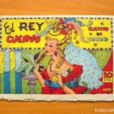 Tebeos: CUADERNOS SELECTOS CISNE, Nº 5 - EL REY CUERVO - EDITORIAL CLIPER 1942. Lote 64478287