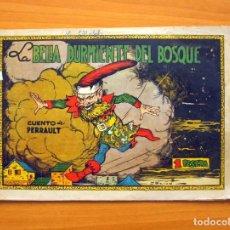 Tebeos: CUADERNOS SELECTOS CISNE, Nº 14 - LA BELLA DURMIENTE DEL BOSQUE - EDITORIAL CLIPER 1942. Lote 64481135