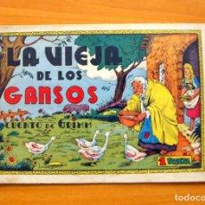Tebeos: CUADERNOS SELECTOS CISNE, Nº 12 - LA VIEJA DE LOS GANSOS - EDITORIAL CLIPER 1942. Lote 64481955