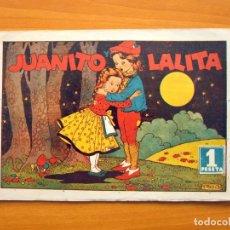 Tebeos: CUADERNOS SELECTOS CISNE, Nº 22 -JUANITO Y LALITA - EDITORIAL CLIPER 1942. Lote 64523063