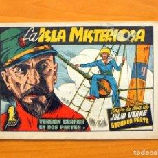 Tebeos: LA ISLA MISTERIOSA, SEGUNDA PARTE - AVENTURAS CELEBRES - EDICIONES CLIPER 1942. Lote 64524627