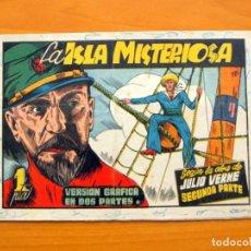 Tebeos: LA ISLA MISTERIOSA, SEGUNDA PARTE - AVENTURAS CELEBRES - EDICIONES CLIPER 1942. Lote 64525507