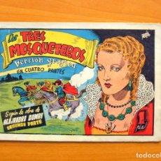 Tebeos: LOS TRES MOSQUETEROS, SEGUNDA PARTE - AVENTURAS CELEBRES - EDICIONES CLIPER 1942. Lote 64525911