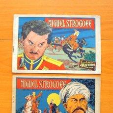 Tebeos: MIGUEL STROGOFF, PRIMERA Y SEGUNDA PARTE, COMPLETA - AVENTURAS CELEBRES - EDICIONES CLIPER 1942. Lote 64531111