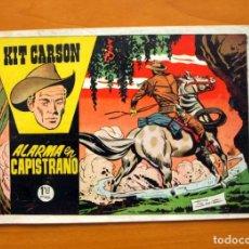 Tebeos: KIT CARSON, Nº 5 ALARMA EN CAPISTRANO - EDICIONES CLIPER 1958. Lote 64535355