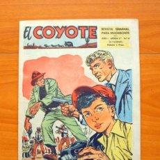 Tebeos: EL COYOTE, 2ª SEGUNDA SERIE - ÉPOCA, Nº 4 - EDICIONES CLIPER 1954. Lote 64536219