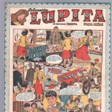 Tebeos: LUPITA ORIGINAL Nº 37 EDITORIAL CLIPER 1950. Lote 67061438