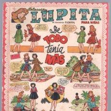 Tebeos: LUPITA ORIGINAL Nº 26 EDITORIAL CLIPER 1950. Lote 67061482