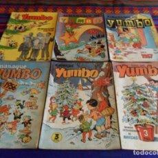 Tebeos: YUMBO EXTRAORDINARIO NAVIDAD Y ALMANAQUE 1955 1956 1957 1958 1959. ED. CLIPER. RAROS.. Lote 67236217