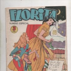 Tebeos: FLORITA - REVISTA JUVENIL FEMENINA - NUMERO ESPECIAL.1958.DA. Lote 67432709