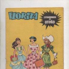 Tebeos: FLORITA EXTRAORDINARIO DE OTOÑO . CLIPER , GERPLA - ORIGINAL.DA. Lote 67436845