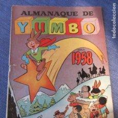 Tebeos: ALMANAQUE YUMBO 1958 -ED.CLIPER. Lote 70163253
