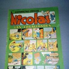 HISTORIETAS COMICAS ( NICOLAS) 1,50 PTAS - Nº 12 ( AÑOS 50)
