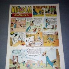 COMIC - NICOLAS ( 1,50 PTAS) EDIC CLIPER - Nº 53 ( AÑOS 50/60)