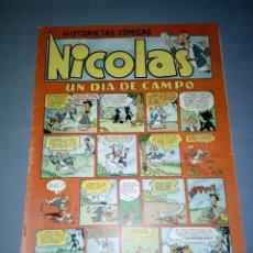 Tebeos: 1018- COMIC - NICOLAS ( 1,50 PTAS) EDIC CLIPER - Nº 21 ( AÑOS 50/60). Lote 74088919