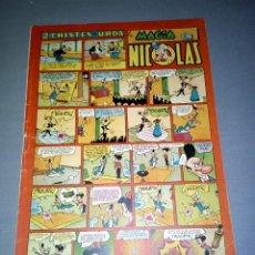 Tebeos: COMIC NICOLAS -- 1.50 PTAS -- Nº 35 -- AÑOS 50 ( BARCELONA). Lote 89549004