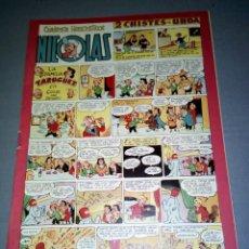 COMIC NICOLAS -- 1.50 PTAS -- Nº 81 -- AÑOS 50 ( BARCELONA)