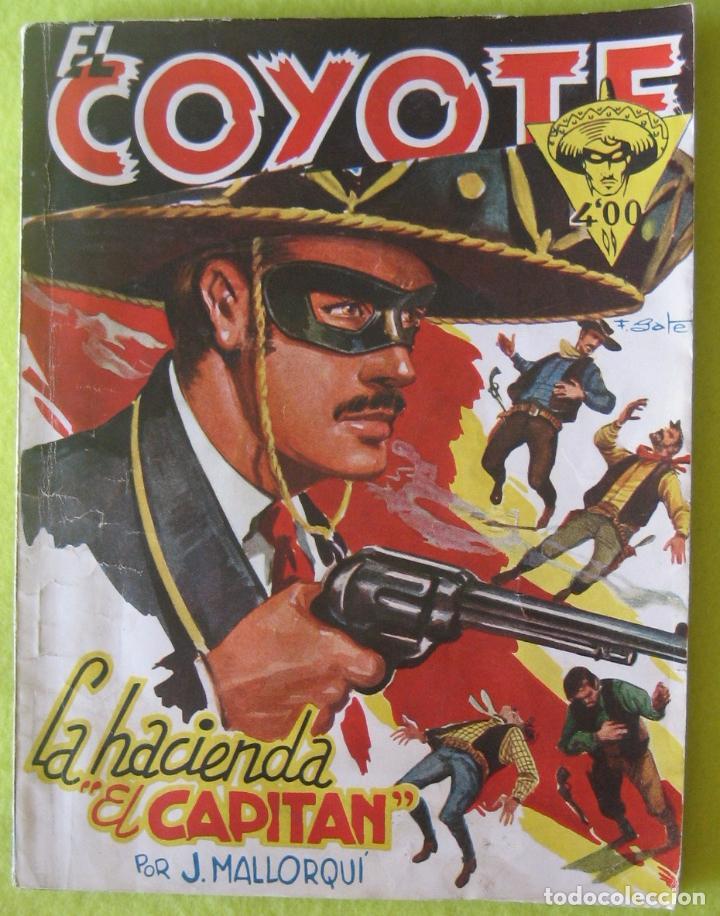 EL COYOTE_ LA HACIENDA DEL CAPITAN _ J.MALLORQUI (Tebeos y Comics - Cliper - El Coyote)