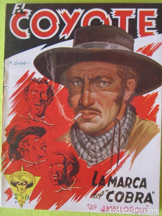 EL COYOTE _ MARCA DEL COBRA _ J. MALLORQUI (Tebeos y Comics - Cliper - El Coyote)
