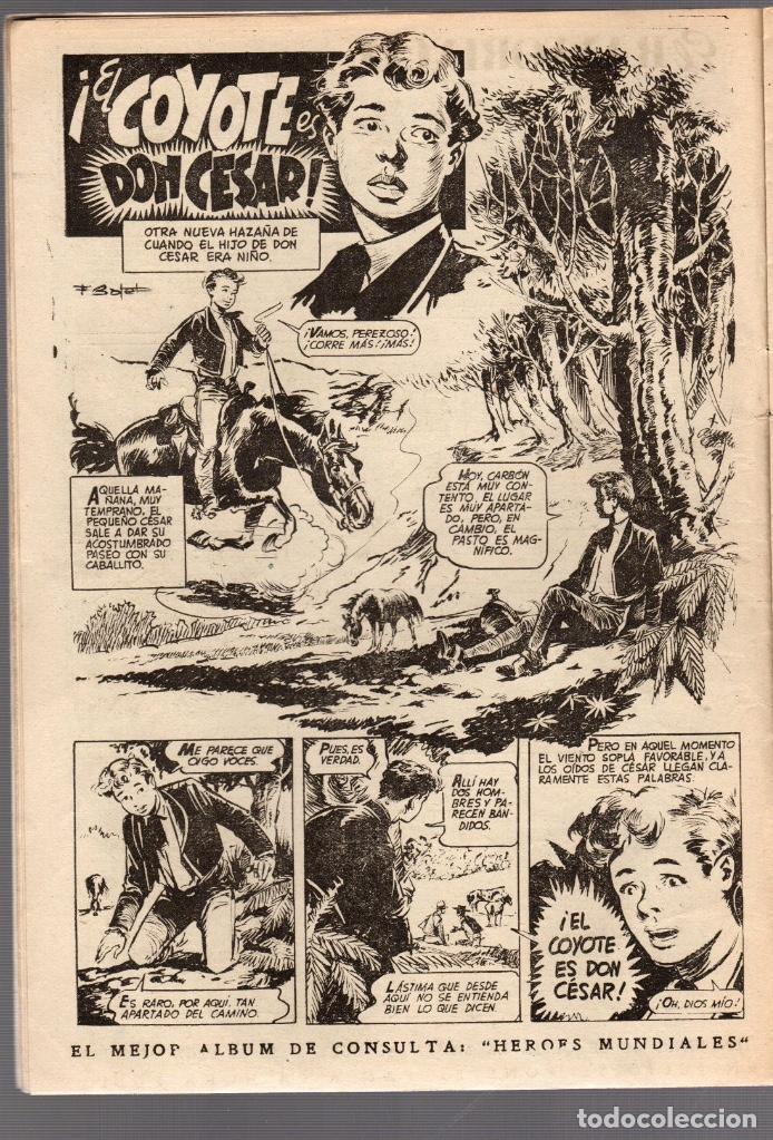 Tebeos: ALMANAQUE COYOTE AÑO 1952. EDICIONES CLIPER. ORIGINAL, NO REEDICION - Foto 2 - 75703979