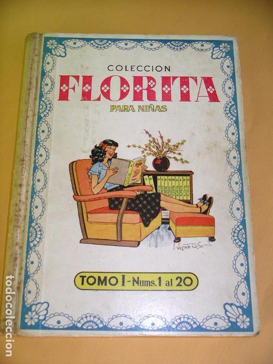 Tebeos: Florita, lote nºs 1 al 140 en tomos, ed. Cliper, años 1950. tomo, OFERTA!!!, ercom - Foto 6 - 77817985
