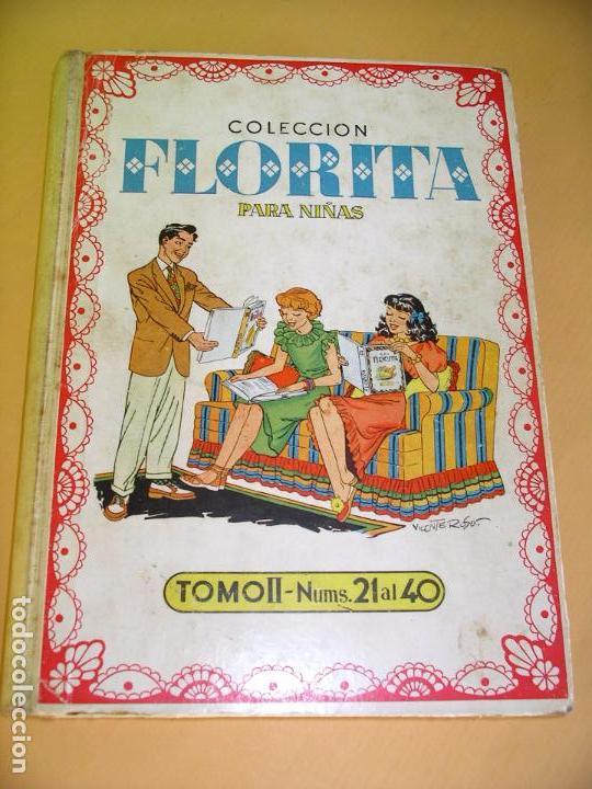 Tebeos: Florita, lote nºs 1 al 140 en tomos, ed. Cliper, años 1950. tomo, OFERTA!!!, ercom - Foto 8 - 77817985