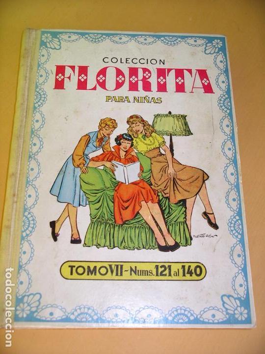Tebeos: Florita, lote nºs 1 al 140 en tomos, ed. Cliper, años 1950. tomo, OFERTA!!!, ercom - Foto 18 - 77817985