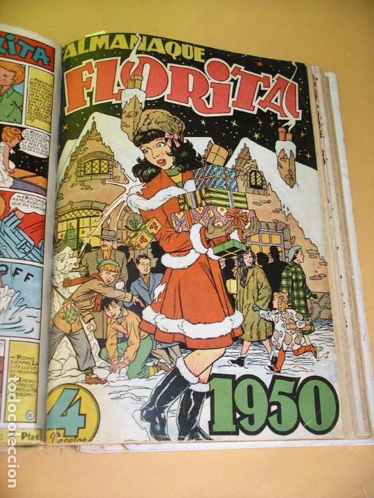 Tebeos: Florita, lote nºs 1 al 140 en tomos, ed. Cliper, años 1950. tomo, OFERTA!!!, ercom - Foto 19 - 77817985