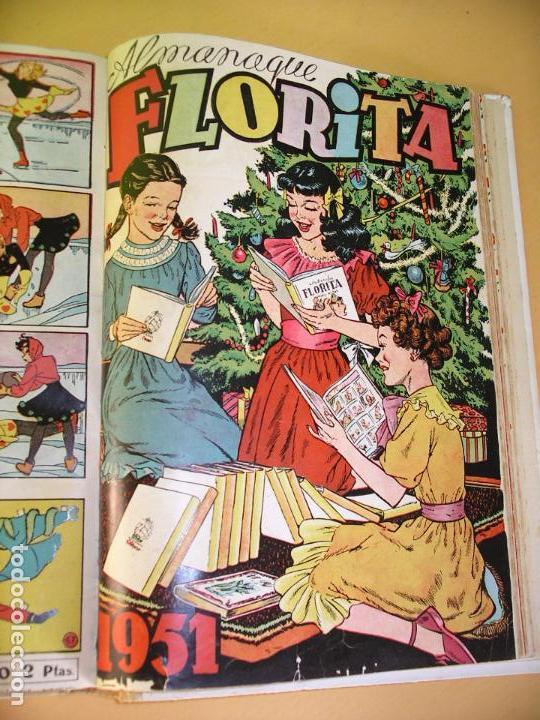 Tebeos: Florita, lote nºs 1 al 140 en tomos, ed. Cliper, años 1950. tomo, OFERTA!!!, ercom - Foto 20 - 77817985