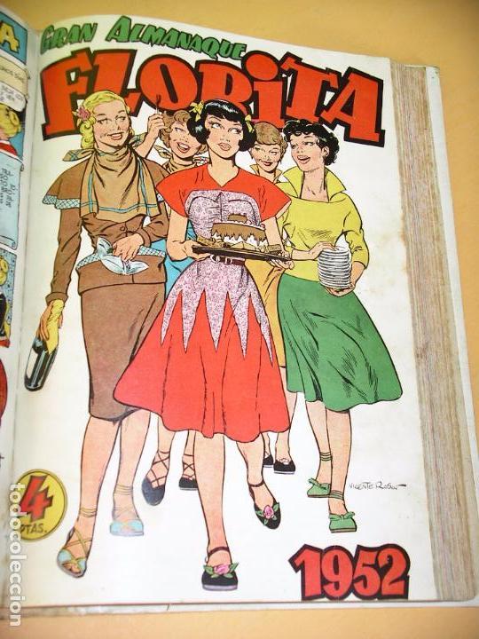Tebeos: Florita, lote nºs 1 al 140 en tomos, ed. Cliper, años 1950. tomo, OFERTA!!!, ercom - Foto 21 - 77817985