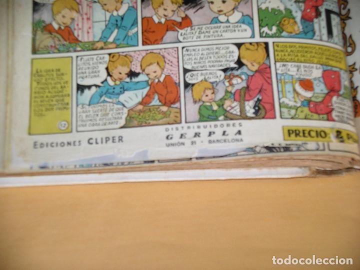 Tebeos: Florita, lote nºs 1 al 140 en tomos, ed. Cliper, años 1950. tomo, OFERTA!!!, ercom - Foto 30 - 77817985