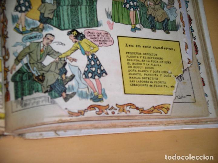Tebeos: Florita, lote nºs 1 al 140 en tomos, ed. Cliper, años 1950. tomo, OFERTA!!!, ercom - Foto 31 - 77817985