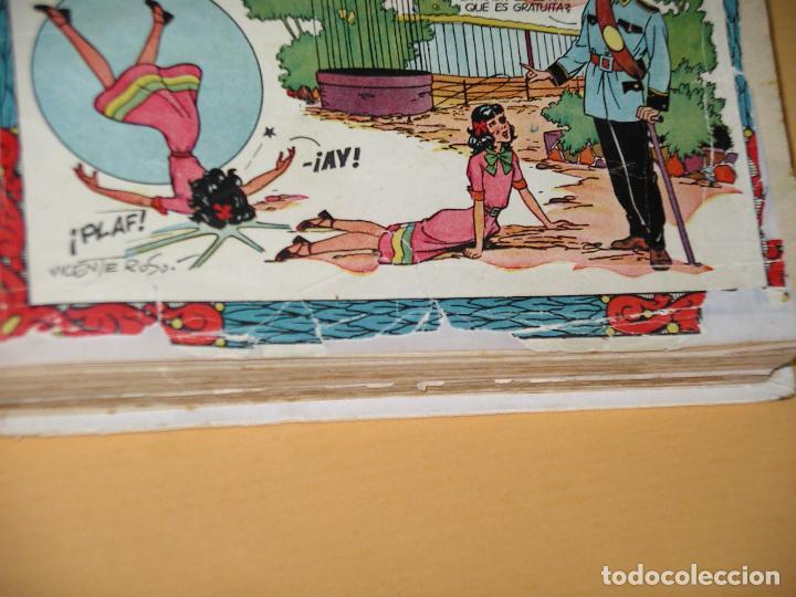Tebeos: Florita, lote nºs 1 al 140 en tomos, ed. Cliper, años 1950. tomo, OFERTA!!!, ercom - Foto 33 - 77817985