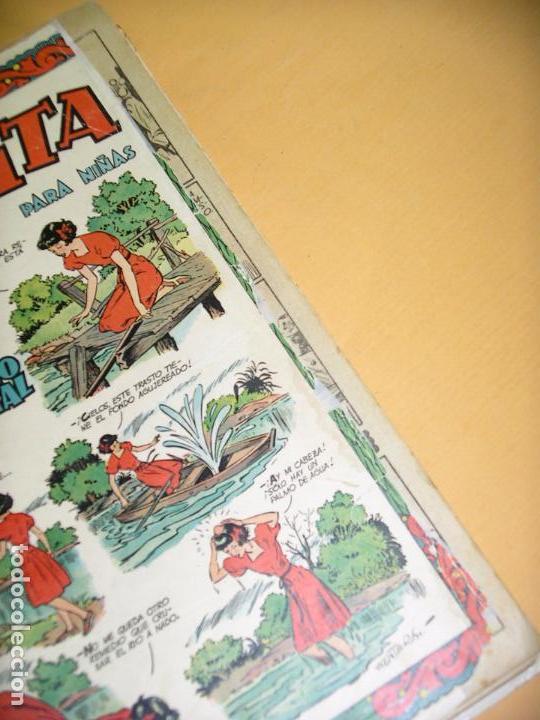 Tebeos: Florita, lote nºs 1 al 140 en tomos, ed. Cliper, años 1950. tomo, OFERTA!!!, ercom - Foto 34 - 77817985