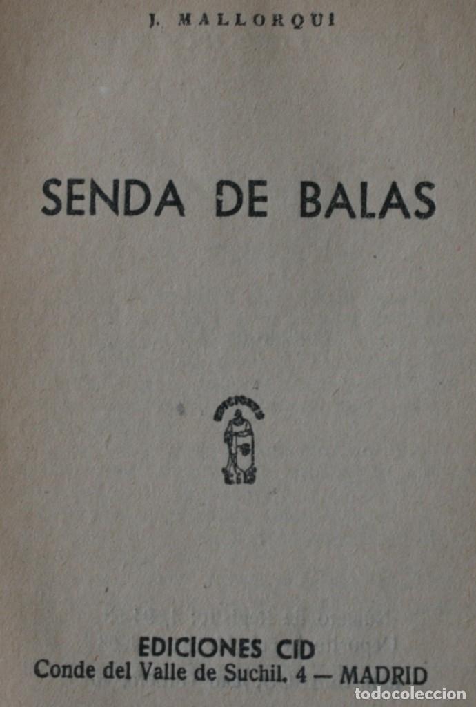 Tebeos: NOVELA DEL COYOTE: SENDA DE BALAS. EDICIONES CID, AÑO PUBLICACION 1963 – J. MALLORQUI - Foto 2 - 129200520