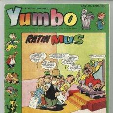 Tebeos: YUMBO 329, 1959, BUEN ESTADO. Lote 80655854
