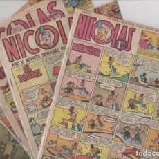 Tebeos: TEBEO DE HUMOR, NICOLAS, LOTE ( 12 ). Lote 83431252